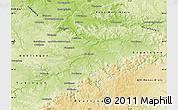 Physical Map of Esslingen