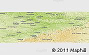 Physical Panoramic Map of Esslingen