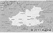 Gray 3D Map of Heilbronn