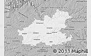 Gray Map of Heilbronn