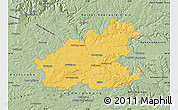 Savanna Style Map of Heilbronn