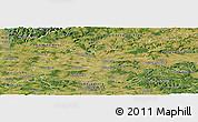 Satellite Panoramic Map of Heilbronn