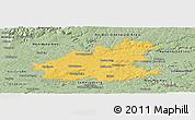 Savanna Style Panoramic Map of Heilbronn