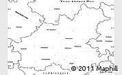 Blank Simple Map of Heilbronn