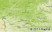Physical 3D Map of Ludwigsburg