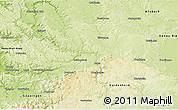 Physical 3D Map of Ostalbkreis