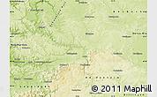 Physical Map of Ostalbkreis
