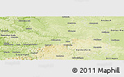 Physical Panoramic Map of Ostalbkreis