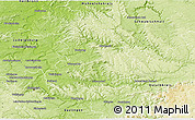 Physical 3D Map of Rems-Murr-Kreis