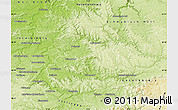 Physical Map of Rems-Murr-Kreis