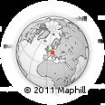 Outline Map of Rems-Murr-Kreis