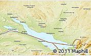 Physical 3D Map of Bodenseekreis