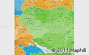 Political Shades Map of Tübingen