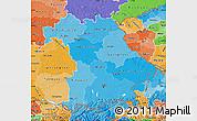 Political Shades Map of Bayern