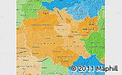 Political Shades Map of Mittelfranken