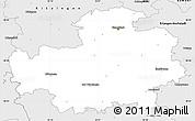 Silver Style Simple Map of Neustadt an der Aisch-Bad Windsheim