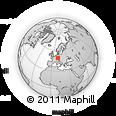 Outline Map of Mittelfranken