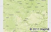 Physical Map of Weißenburg-Gunzenhausen