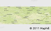 Physical Panoramic Map of Weißenburg-Gunzenhausen