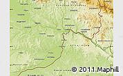 Physical Map of Passau