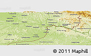 Physical Panoramic Map of Passau