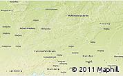 Physical 3D Map of Dachau