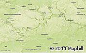 Physical 3D Map of Eichstätt