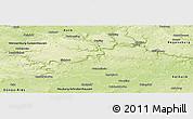 Physical Panoramic Map of Eichstätt