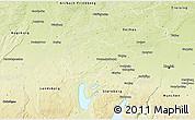 Physical 3D Map of Fürstenfeldbruck