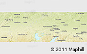 Physical Panoramic Map of Fürstenfeldbruck