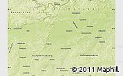 Physical Map of Neuburg-Schrobenhausen