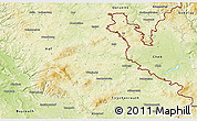 Physical 3D Map of Wunsiedel