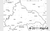 Blank Simple Map of Cham
