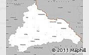 Gray Simple Map of Cham