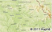 Physical 3D Map of Schwandorf
