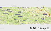Physical Panoramic Map of Schwandorf