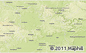Physical 3D Map of Donau-Ries