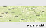 Physical Panoramic Map of Donau-Ries