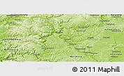 Physical Panoramic Map of Main-Spessart-Kreis