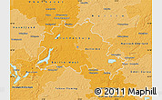 Political Shades Map of Berlin