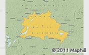 Savanna Style Map of Berlin