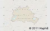 Shaded Relief Map of Berlin, lighten