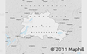 Silver Style Map of Berlin