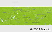 Physical Panoramic Map of Berlin