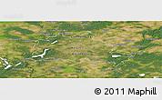 Satellite Panoramic Map of Berlin