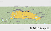 Savanna Style Panoramic Map of Berlin