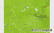 Physical 3D Map of Barnim