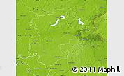 Physical Map of Barnim