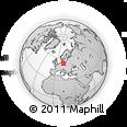 Outline Map of Barnim