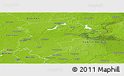 Physical Panoramic Map of Barnim